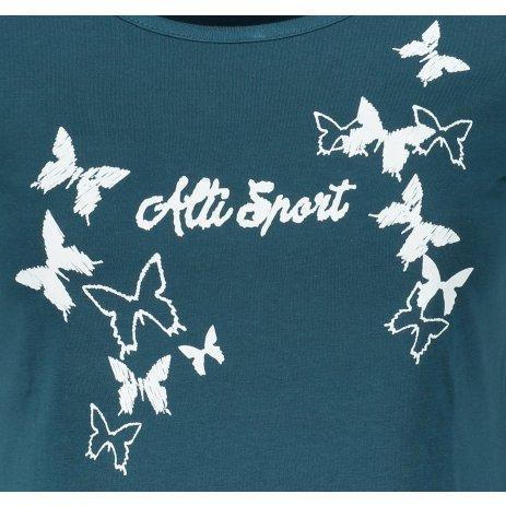 Dámské triko ALTISPORT ALW011F61 PETROLEJOVÁ