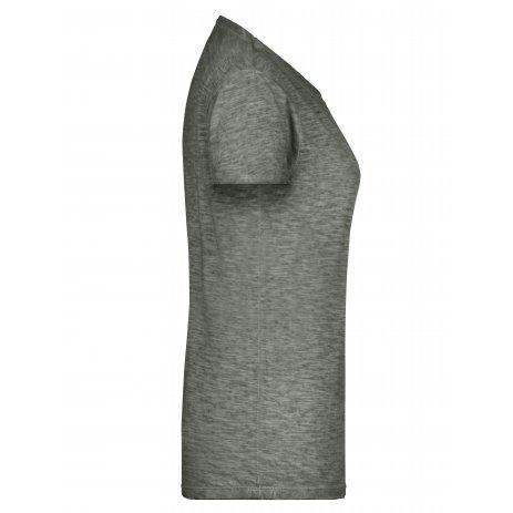 Dámské triko JAMES NICHOLSON 8015 DUSTY OLIVE