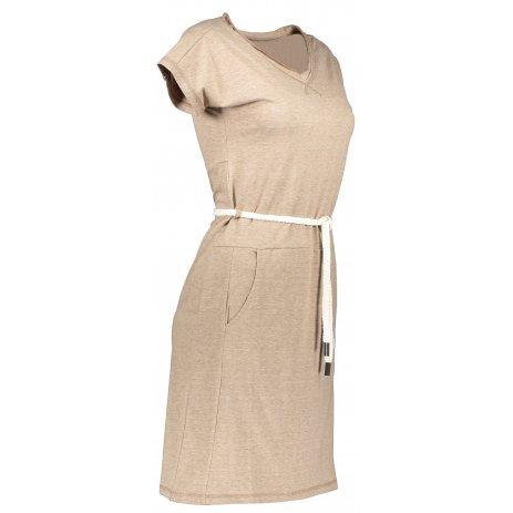 Dámské šaty TORSTAI TAURANGA HNĚDÁ