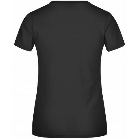 Dámské triko JAMES NICHOLSON JN004 BLACK