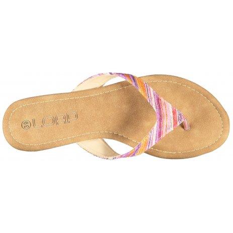 Dámské pantofle LOAP HERBA HNĚDÁ