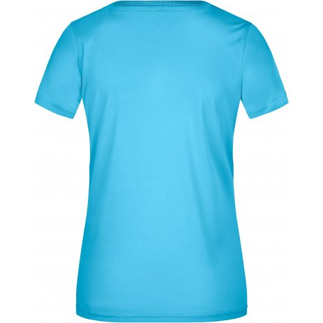 Dámské funkční triko JAMES NICHOLSON JN735 TURQUOISE