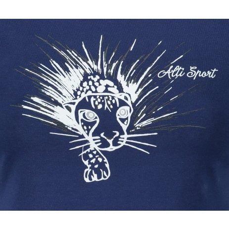 Dámské triko ALTISPORT ALW076122 PŮLNOČNÍ MODRÁ