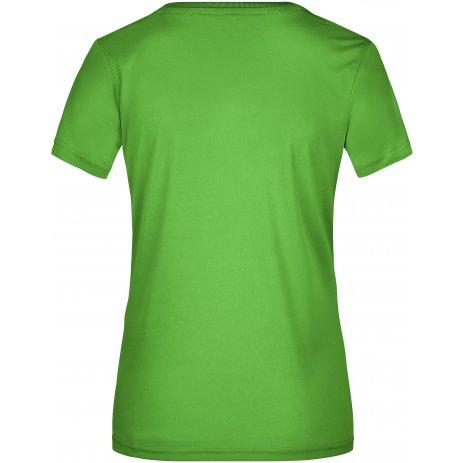 Dámské funkční triko JAMES NICHOLSON JN357 LIME GREEN