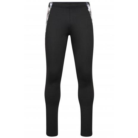 Pánské elastické kalhoty JAMES NICHOLSON JN528 BLACK/BLACK PRINTED