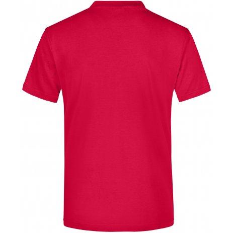 Pánské triko JAMES NICHOLSON JN003 RED