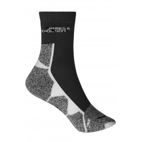 Sportovní ponožky JAMES NICHOLSON JN215 BLACK/WHITE