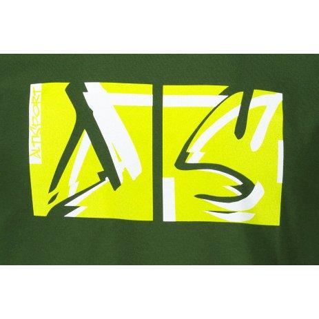 Pánské triko ALTISPORT ALM078129 LAHVOVĚ ZELENÁ