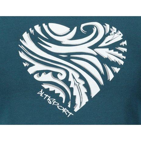 Dámské triko ALTISPORT ALW077122 PETROLEJOVÁ