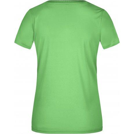 Dámské funkční triko JAMES NICHOLSON JN735 LIME GREEN