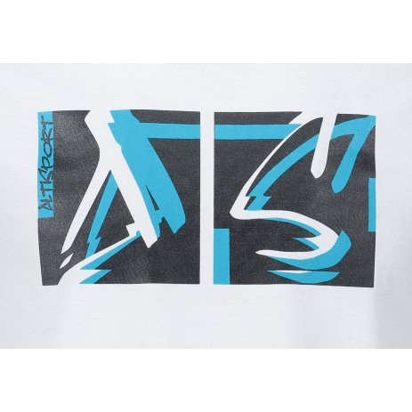 Pánské triko ALTISPORT ALM078129 BÍLÁ