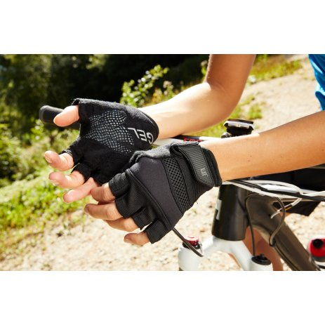 Cyklo rukavice JAMES NICHOLSON JN336 BLACK
