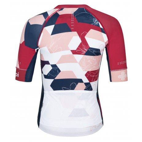 Dámský cyklistický dres KILPI ADAMELLO-W PL0045KI RŮŽOVÁ