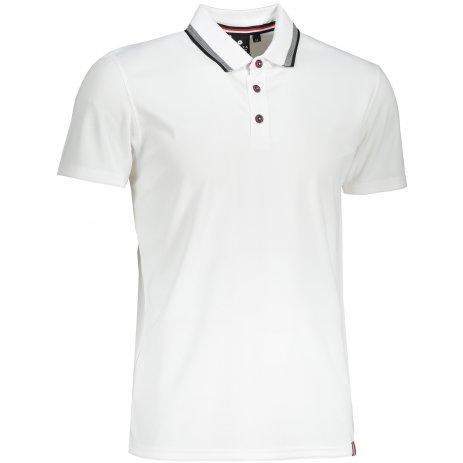 Pánské triko s límečkem LUHTA KARINIEMI BÍLÁ