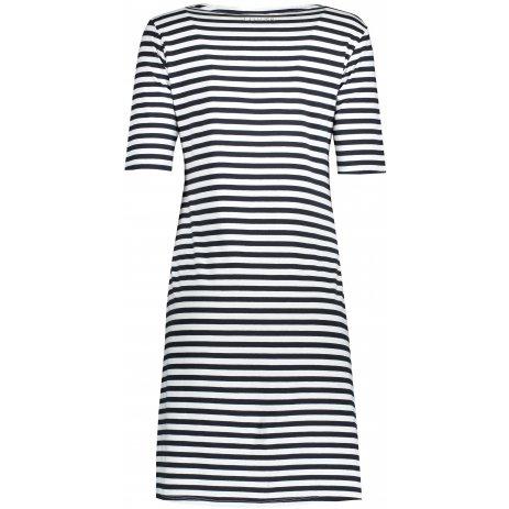 Dámské šaty LUHTA ALISIPPOLA TMAVĚ MODRÁ