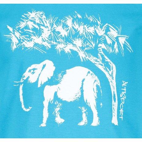 Dětské triko ALTISPORT ALK083138 TYRKYSOVÁ