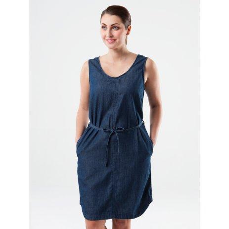 Dámské šaty LOAP NEYLA TMAVĚ MODRÁ