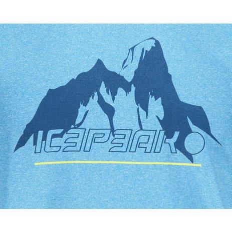 Pánské funkční triko ICEPEAK BAYPORT MODRÁ
