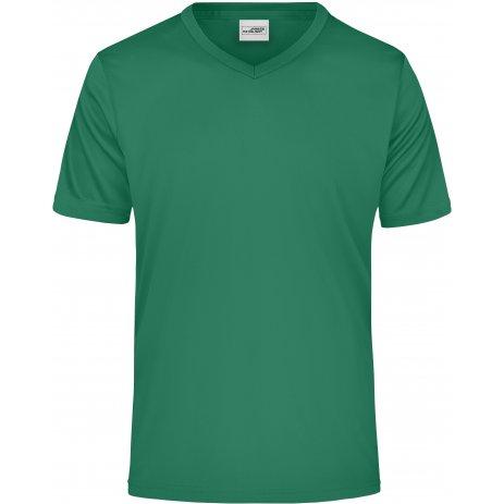Pánské funkční triko JAMES NICHOLSON JN736 GREEN
