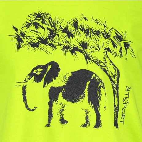 Dětské triko ALTISPORT ALK083138 LIMETKOVÁ