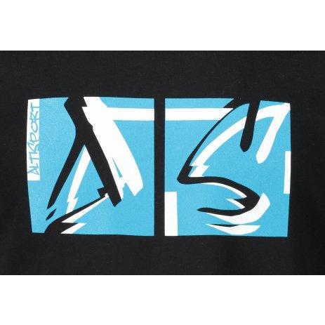 Pánské triko ALTISPORT ALM078129 ČERNOMODRÁ