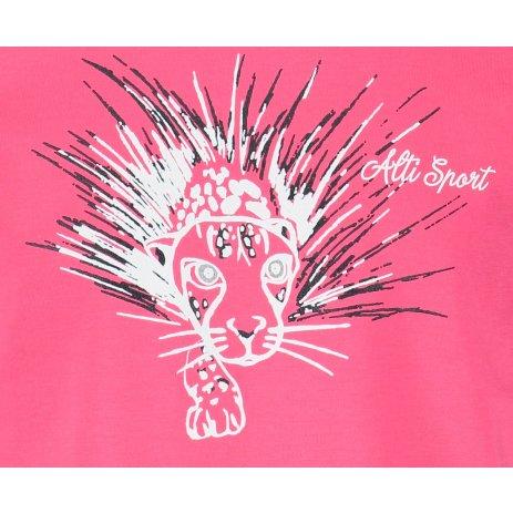 Dětské triko ALTISPORT ALK076138 MALINOVÁ