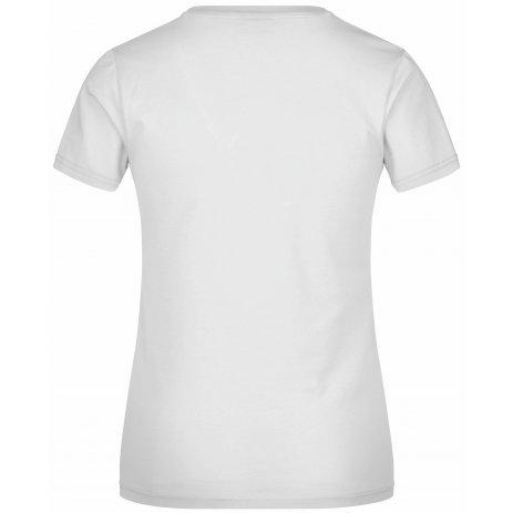 Dámské triko JAMES NICHOLSON JN004 WHITE