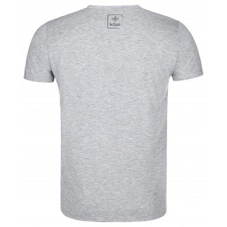 Pánské funkční triko KILPI GAROVE-M PM0023KI SVĚTLE ŠEDÁ