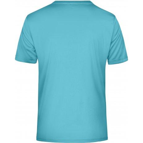Pánské funkční triko JAMES NICHOLSON JN736 PACIFIC