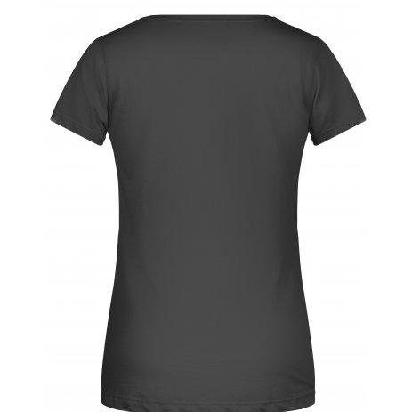 Dámské triko JAMES NICHOLSON 8003 BLACK