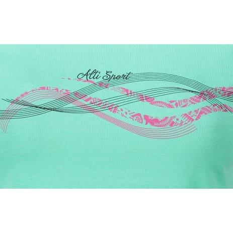 Dámské triko ALTISPORT ALW085122 MÁTOVÁ