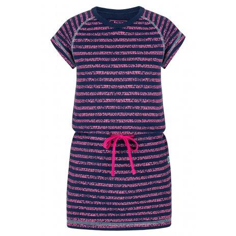 Dívčí šaty LOAP BACY MODRÁ