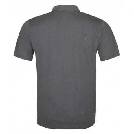Pánské funkční triko KILPI COLLAR-M PM0021KI ČERNÁ