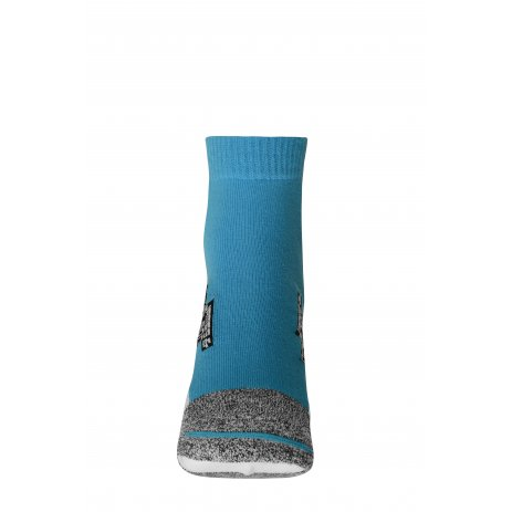 Sportovní ponožky JAMES NICHOLSON JN214 BRIGHT BLUE/WHITE