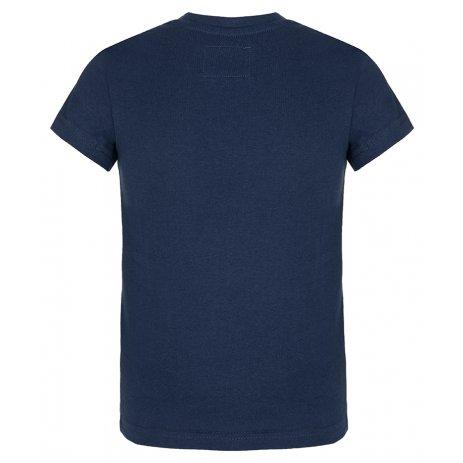 Chlapecké triko LOAP BAWEC TMAVĚ MODRÁ