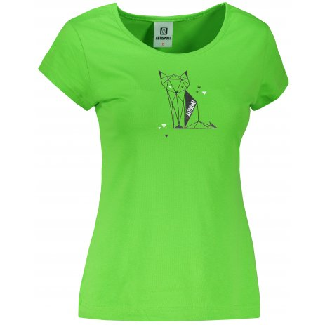 Dámské triko ALTISPORT ALW091122 APPLE GREEN