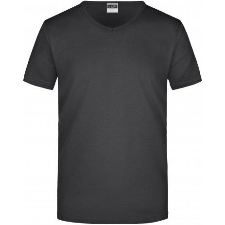 Pánské triko JAMES NICHOLSON JN912 BLACK