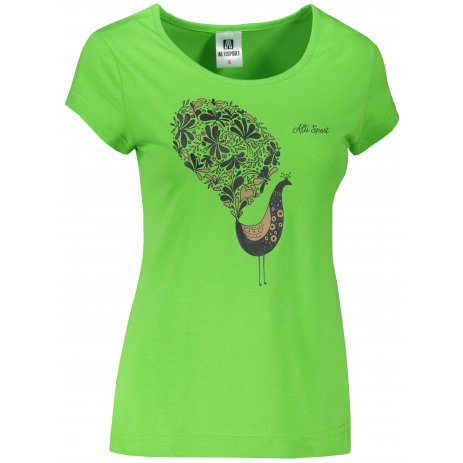 Dámské triko ALTISPORT ALW101122 APPLE GREEN