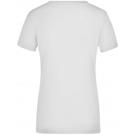 Dámské triko JAMES NICHOLSON JN928 WHITE