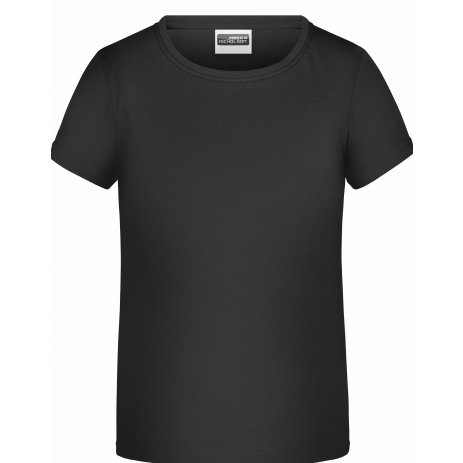 Chlapecké triko JAMES NICHOLSON JN745 BLACK
