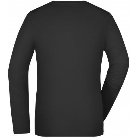 Dámské triko s dlouhým rukávem JAMES NICHOLSON JN927 BLACK