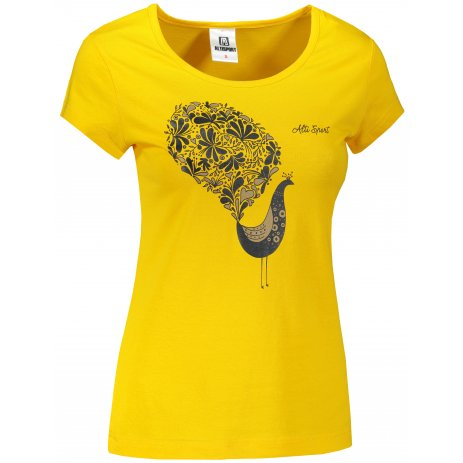 Dámské triko ALTISPORT ALW101122 ŽLUTÁ