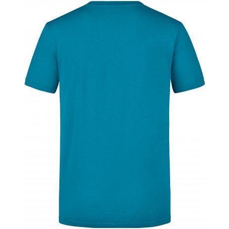Pánské triko JAMES NICHOLSON JN911 CARIBBEAN BLUE