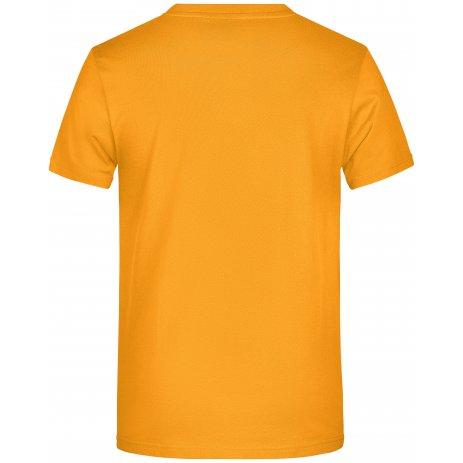 Pánské triko JAMES NICHOLSON JN790 GOLD YELLOW