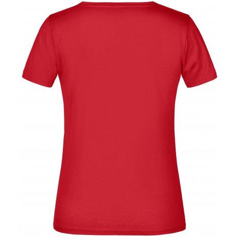 Dámské triko JAMES NICHOLSON JN789 RED