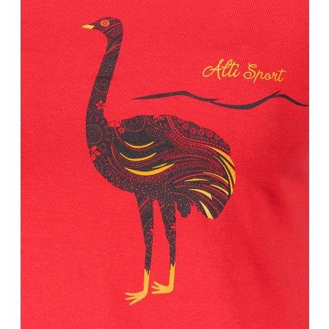 Dámské triko ALTISPORT ALW093122 ČERVENÁ