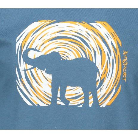 Pánské triko ALTISPORT ALM090129 DENIM