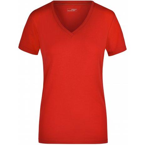 Dámské triko JAMES NICHOLSON JN928 RED