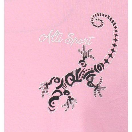 Dětské triko ALTISPORT ALK092138 SVĚTLE RŮŽOVÁ