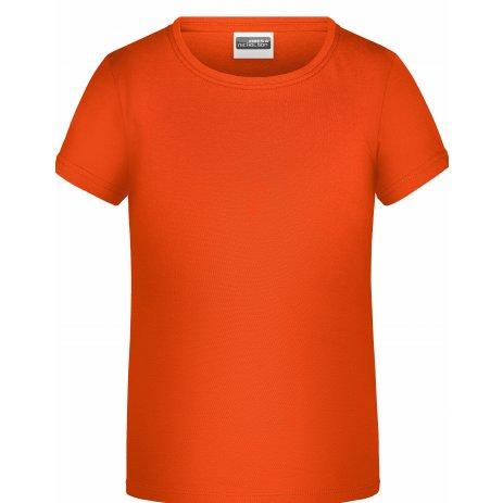 Chlapecké triko JAMES NICHOLSON JN745 ORANGE